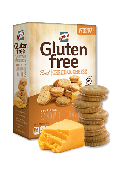 Lance Gluten Free Cheddar Cheese Crackers