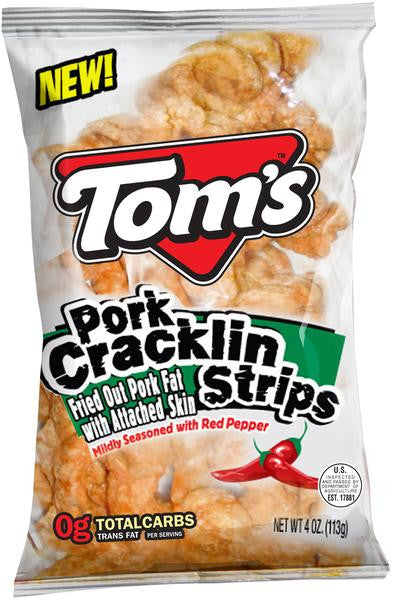 Tom's Red Pepper Cracklins