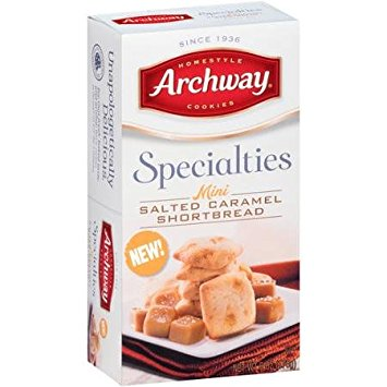 Archway Salted Caramel Shortbread Cookie
