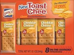 Lance Toastchee Cheddar 8 Count 11.3 oz.