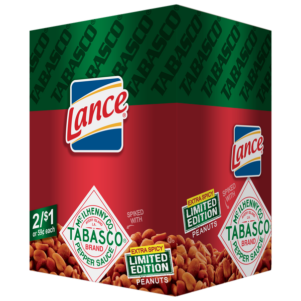 Lance Limited Edition Tabasco Peanuts