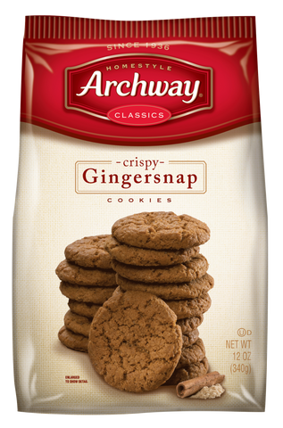 Archway Gingersnap Cookies
