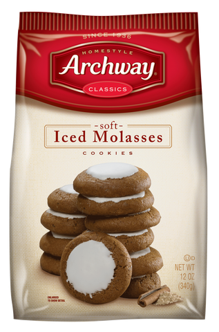 Archway Iced Molasses Cookies