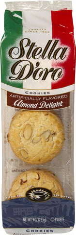 Stella D'Oro Almond Delight Cookie 9 oz.