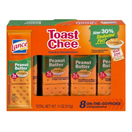 Lance Reduced Fat Toastchee