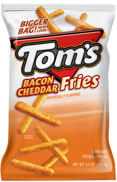 Tom's Bacon Cheddar Fries