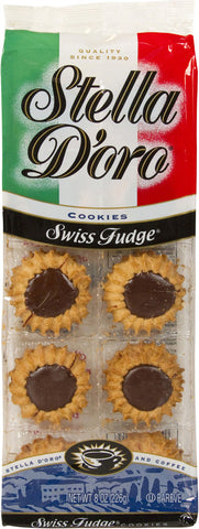 Stella D'Oro Swiss Fudge Cookie 8 oz.
