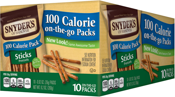 Snyder's of Hanover Calorie Sticks Tray Pack