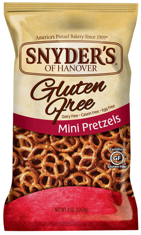 Snyder's of Hanover Gluten Free Mini Pretzels 8 oz.