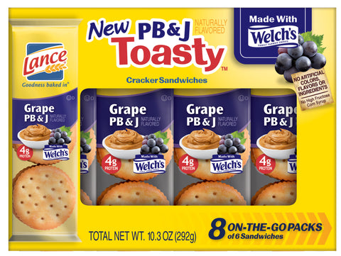 Lance Toasty Grape PB&J