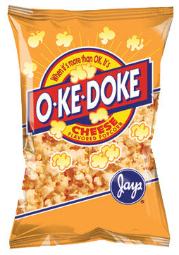 O-Ke-Doke Cheese Popcorn 2 oz.