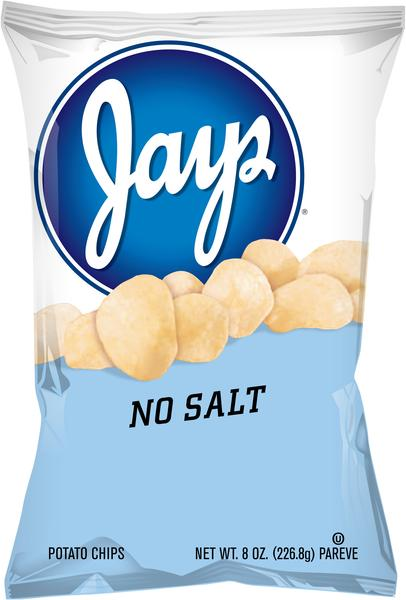 Snyder's of Hanover Unsalted Mini Pretzels & Jay's No salt Chips (Unsalted Mixed Case)