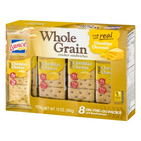 Lance Whole Grain Cheese on Wheat