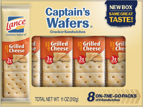 Lance Captain Wafer Grilled Cheese 20 Pack 1.375 oz.