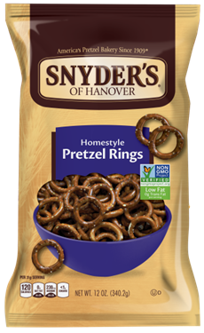 Snyder's of Hanover Homestyle Pretzel Rings