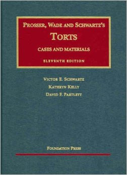 Torts, Cases and Material
