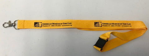 AMTL Lanyard (yellow)