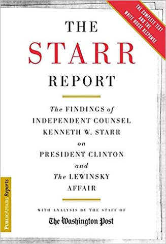 The Starr Report ~ Two Volumes