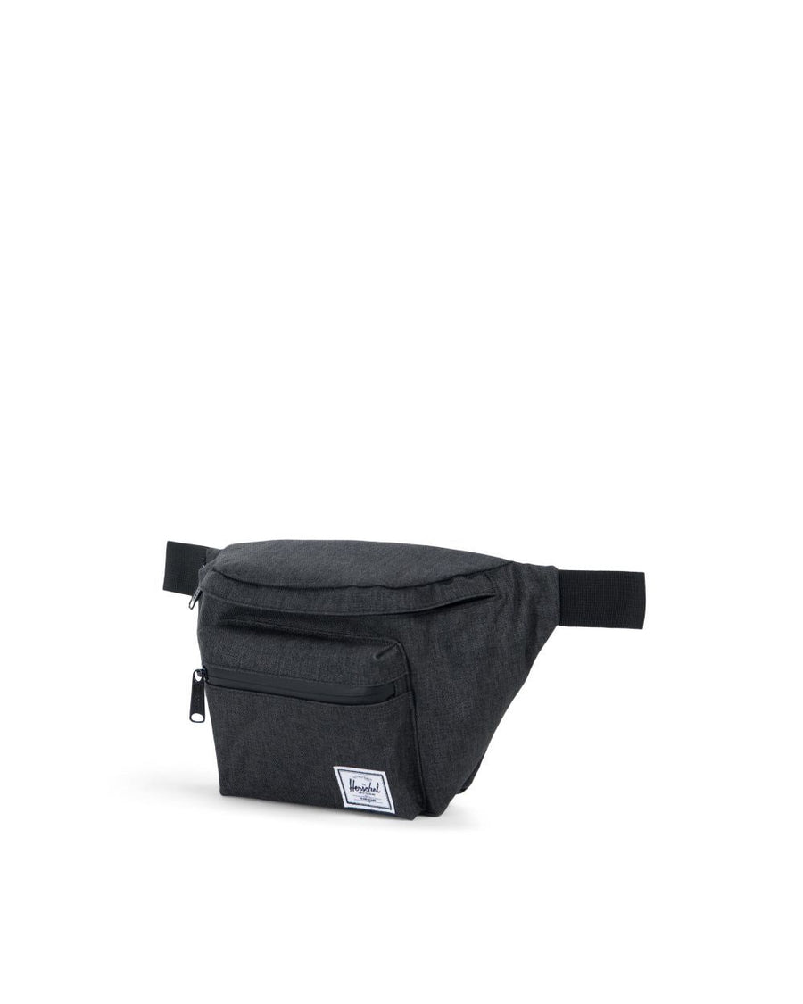 10017-02090-OS - Herschel Seventeen Hip Pack - Black Crosshatch Hip Pack Herschel