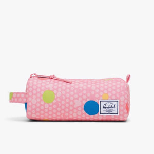 10071-03267-OS -Herschel Settlement Case - Primary Polka Pencil Case Herschel
