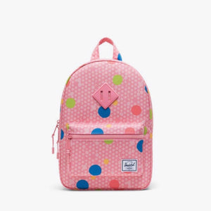 10313-03267-OS-Herschel Kids Heritage 9L Backpack - Primary Polka Backpack Herschel