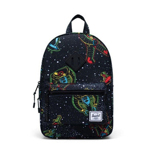 10313-03893-OS-Herschel Kids Heritage 9L Backpack - Space Robots Backpack Herschel