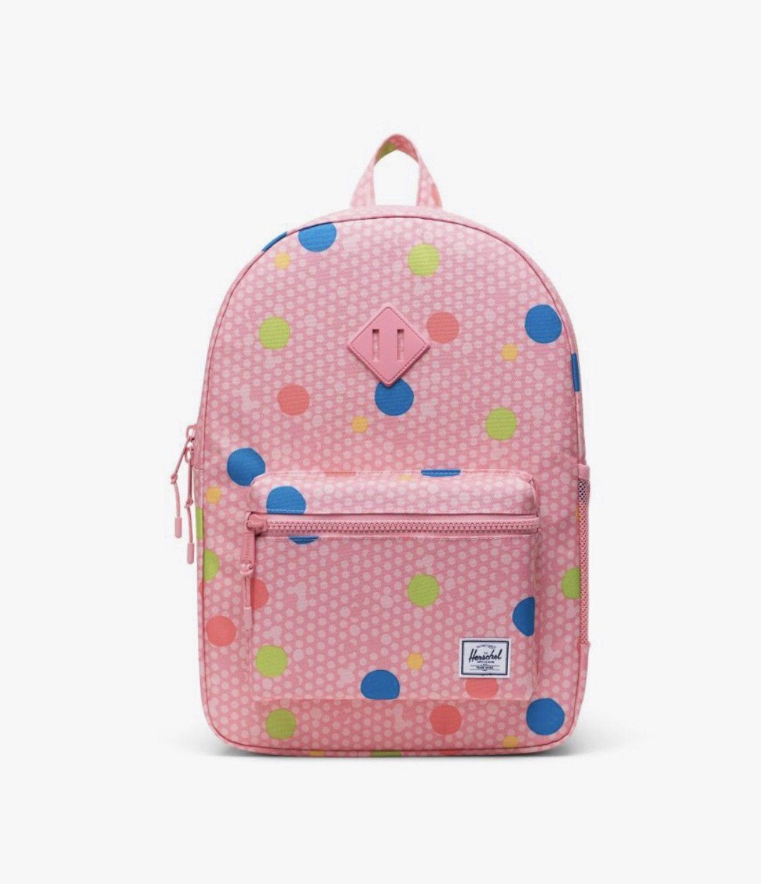 10560-03267-OS-Herschel Heritage Youth XL 20 L Backpack - Primary Polka Backpack Herschel
