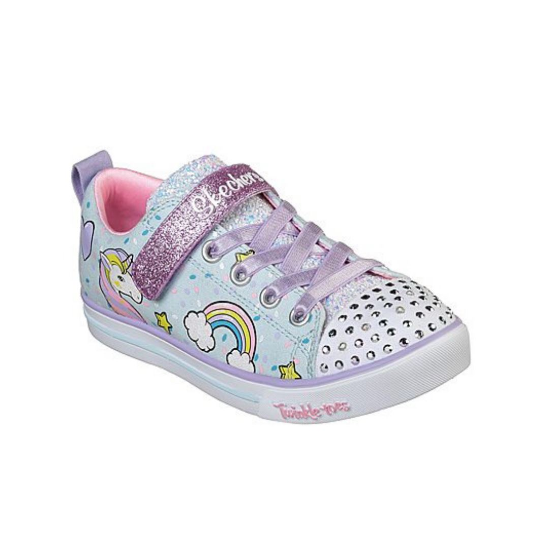 10988- SKECHERS SPARKLE LITE-UNICORN CRAZE (Kids 5 - Youth 4) footwear Skechers