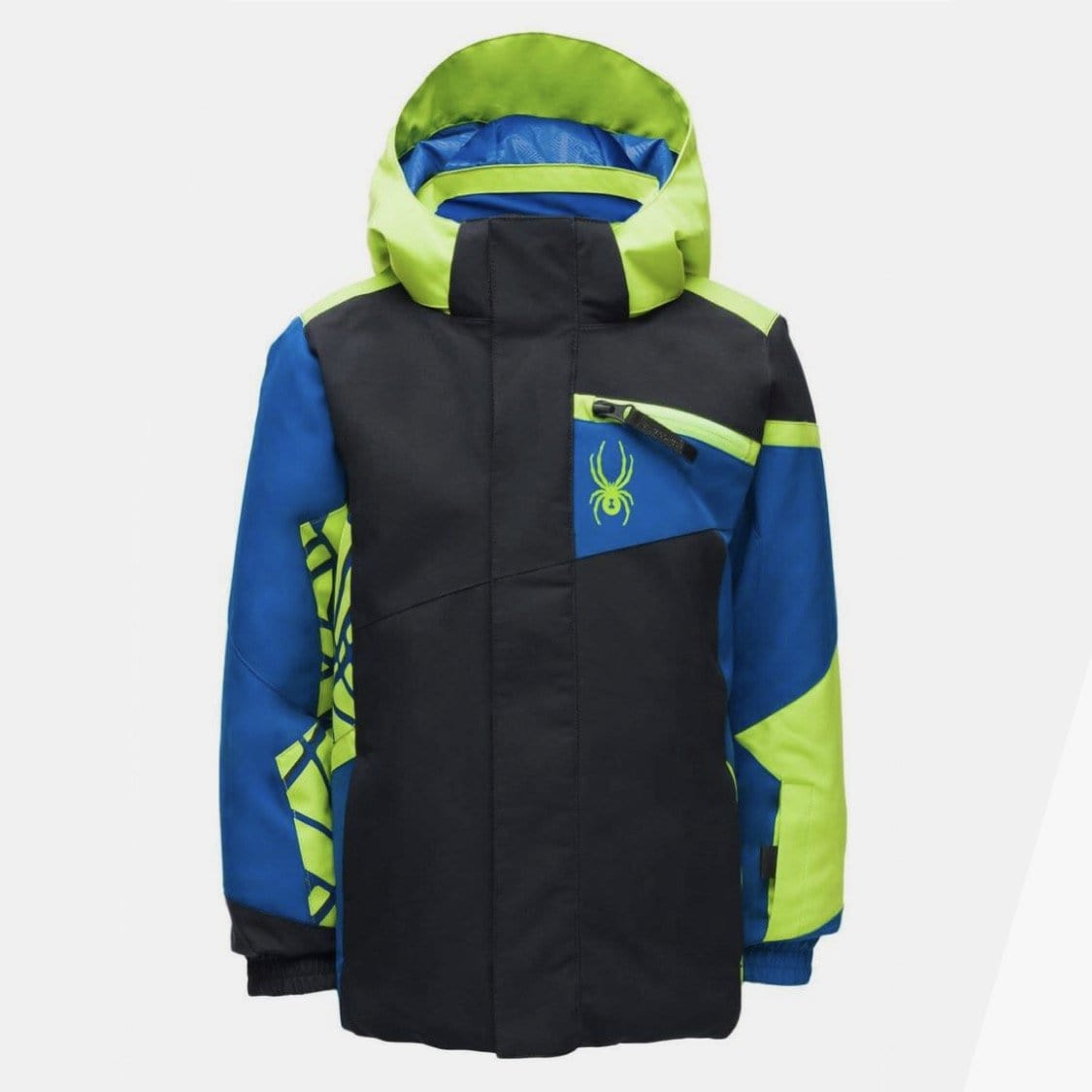 Spyder - Boys' Black Challenger Jacket