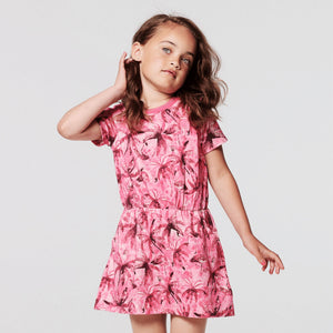 20530413-P160 Noppies Girls Clarksdale Tropical Print Dress Dress Noppies