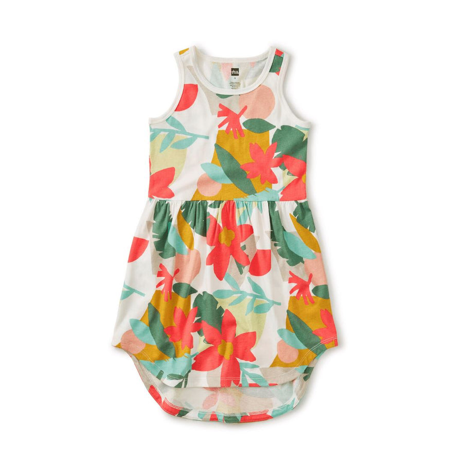 20M12309-Y59 Tea Collection Oasis Floral Girls Skirted Tank Dress Dress Tea Collection