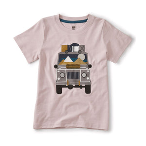 20M22108-626 Tea Collection Orchid Haze Jeep Rider Tee Short Sleeve Shirts Tea Collection