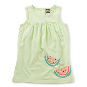 20m32303-b66 - Tea Collection Lime Ice Sweet Melon Baby Girls Tank Dress Dress Tea Collection
