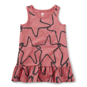 20M32305-Y67 - Tea Collection Star Fish Desert Rose Tank Baby Girls Dress Dress Tea Collection