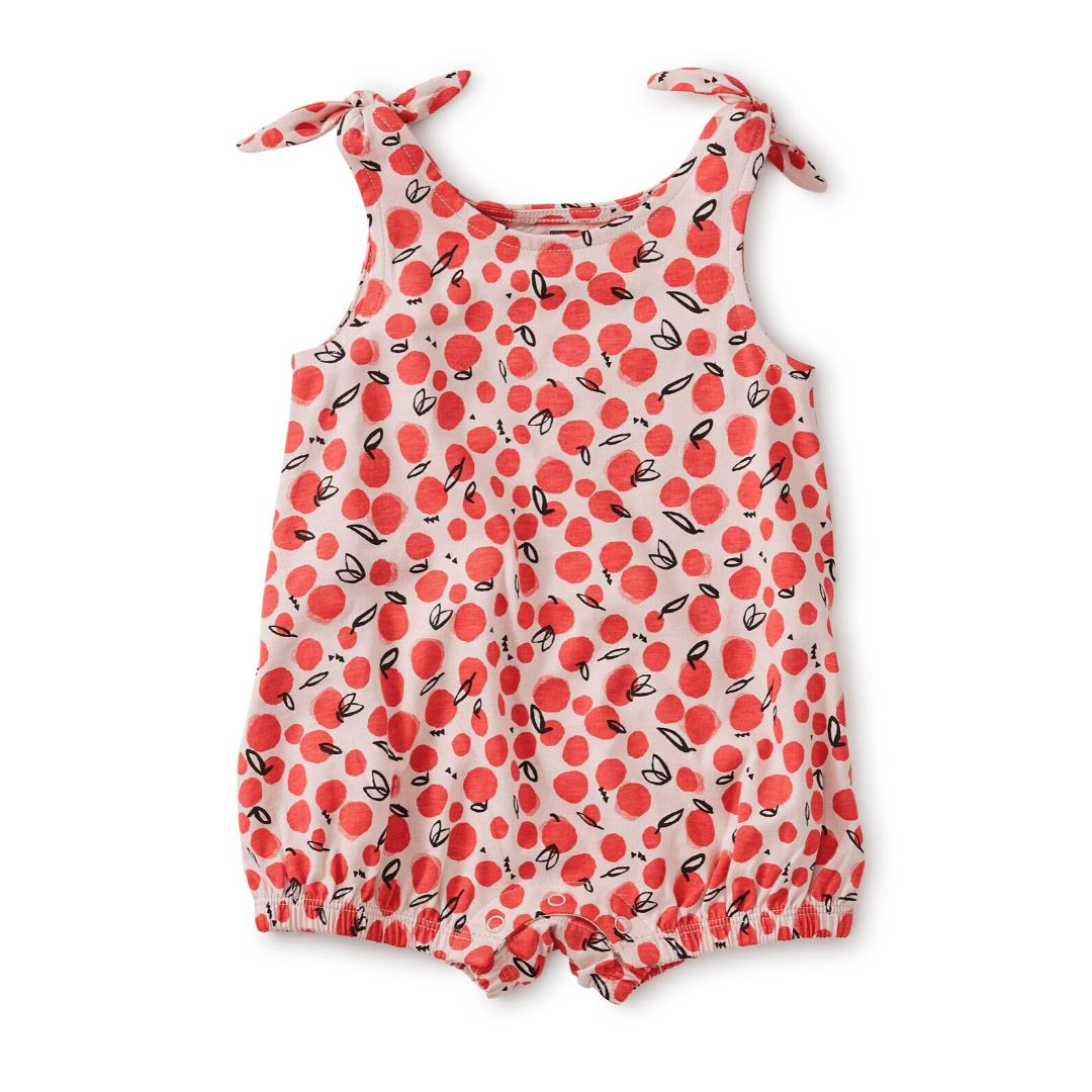 20M32505-Y57 - Tea Collection Oasis Fruit Tie Shoulder Baby Girls Romper Jumpsuits / Rompers Tea Collection