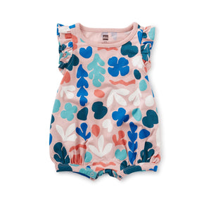 20M32510-Y72 - Tea Collection Coral Reef Zephyr Baby Girls Romper Romper Tea Collection