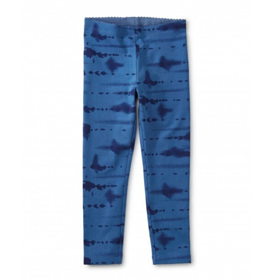 20S12208-E79 Tea Collection Desert Tie Dye - Batik Blue Girls Leggings Leggings Tea Collection
