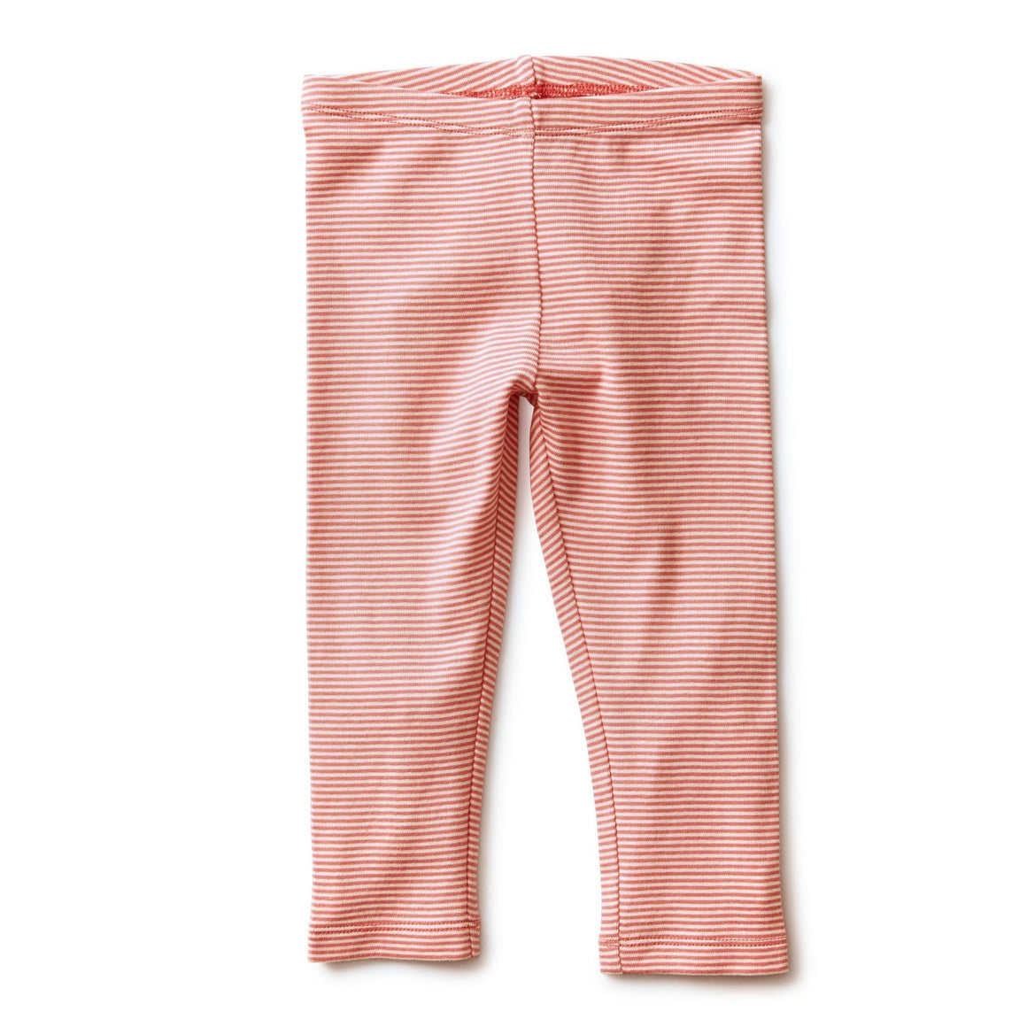 20S12210-995 Tea Collection Dusty Rose Girls Striped Capri Leggings Leggings Tea Collection