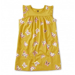20S12316-Y43 Tea Collection Butterfly - Acacia Girls Might Mini Dress Dress Tea Collection
