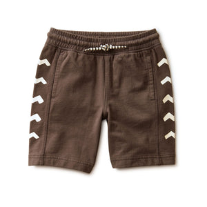 20S22202-185 Tea Collection Game on Side Panel Shorts - Pepper Shorts Tea Collection
