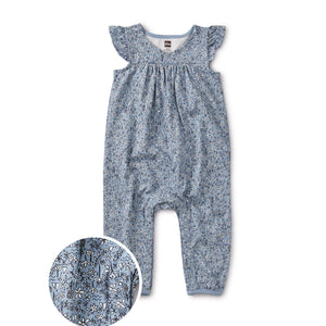 20S32513-Z84 - Tea Collection Nile Cloud Floral Baby Girls Wrap Romper Jumpsuits / Rompers Tea Collection