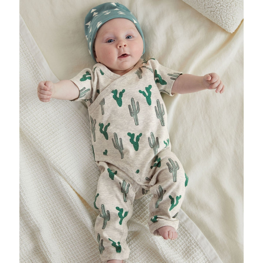 20S62501-Y99 - Tea Collection Cacti Baby Romper Jumpsuits / Rompers Tea Collection
