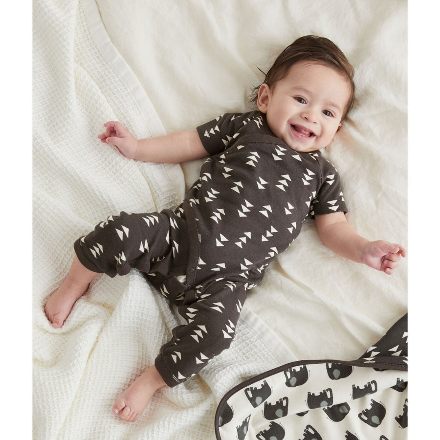 20S72502-X20 - Tea Collection Geo Pepper Baby Romper Jumpsuits / Rompers Tea Collection