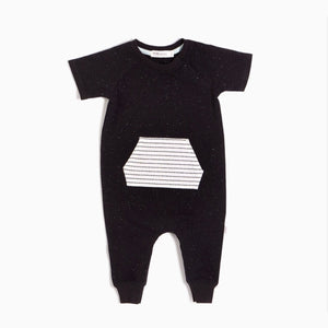 20SMW50317 Miles Baby - Unisex Baby Pavement Playsuit Jumpsuits / Rompers Miles Baby 3 Months