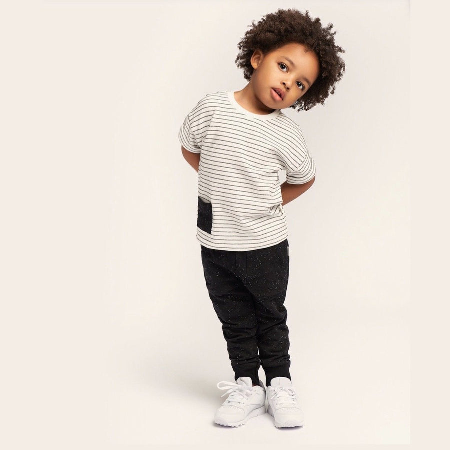 20SMW50721 Miles Baby - Unisex Baby Striped T-Shirt Long Sleeve Shirts Miles Baby 12 Months