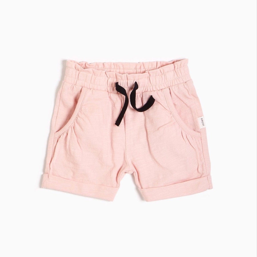 20SMW51814B Miles Baby - Baby Girl's Ruffled Shorts Shorts Miles Baby 12 Months