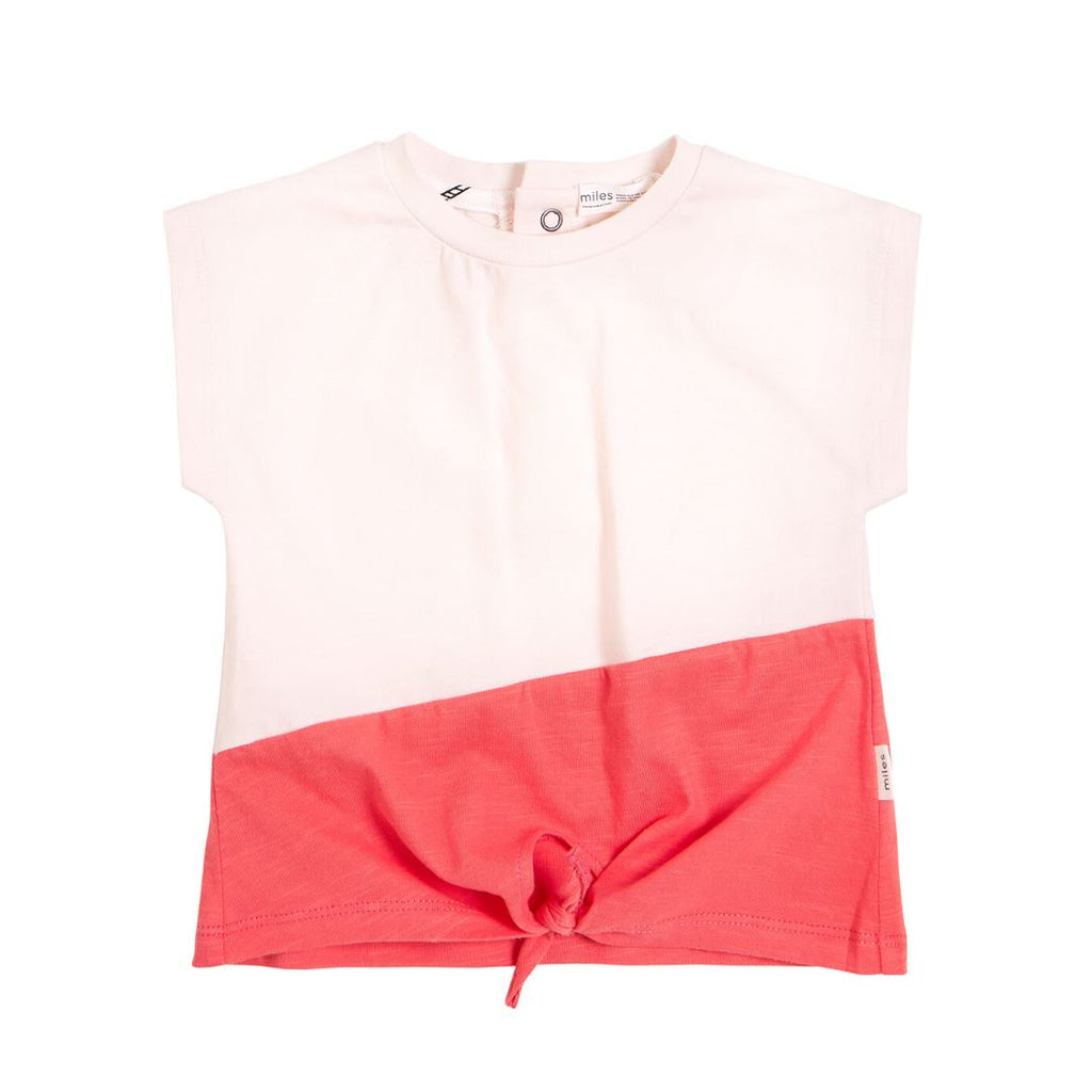 20SMW53708J Miles Baby - Girl's Colour Blocked T-Shirt Long Sleeve Shirts Miles Baby 2 Years