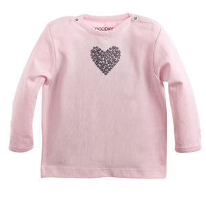 67306- Noppies Heart Long Sleeve Tee (Preemie) Long Sleeve Shirts Noppies