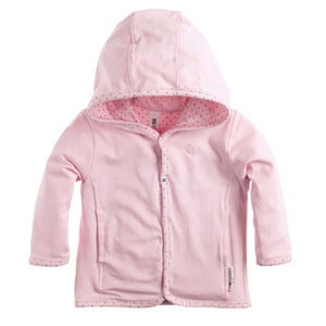 67320- Noppies Reversible Light Rose Hooded Sweatshirt Sweatshirt Noppies