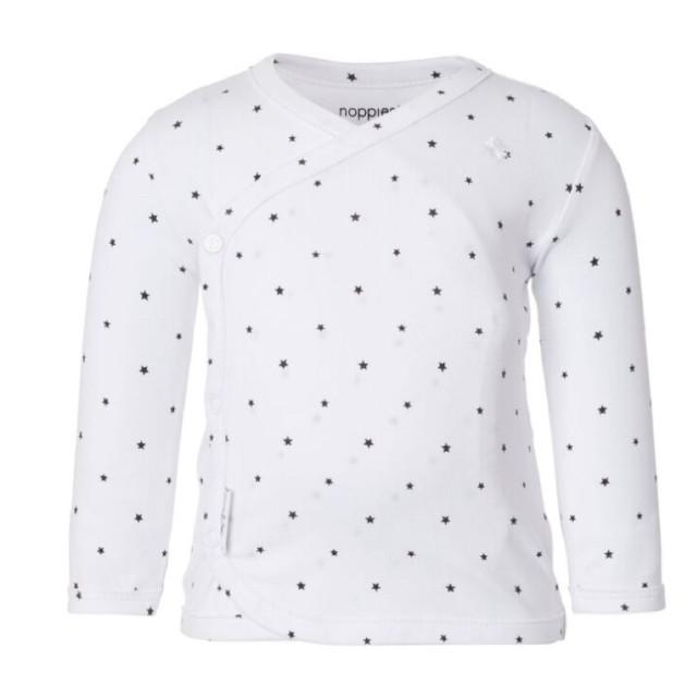 67341 - Noppies Black and White Star Long Sleeve Shirt Long Sleeve Shirts Noppies